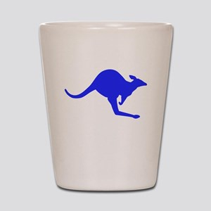 Hopping Kangaroo Shot Glass
