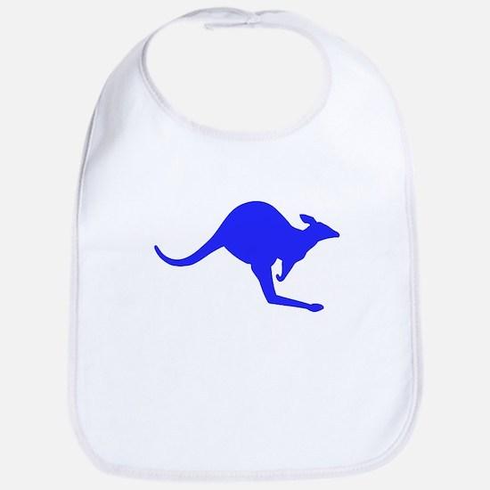 Hopping Kangaroo Bib