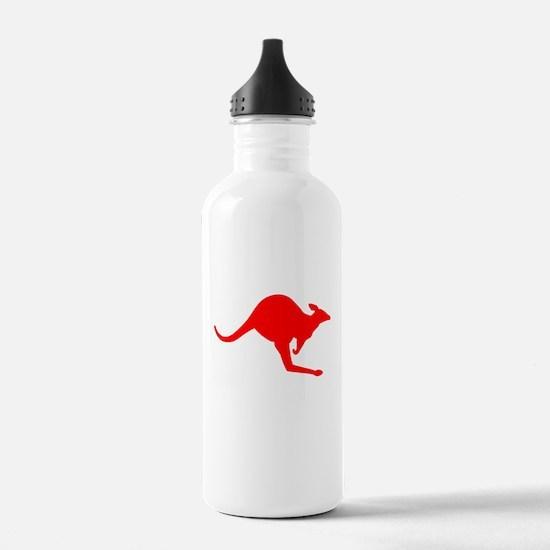 Hopping Kangaroo Water Bottle