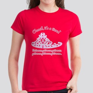 It's a tiara! Women's Dark T-Shirt