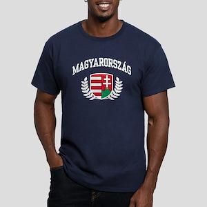 Magyarorszag Men's Fitted T-Shirt (dark)