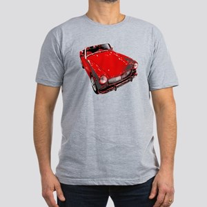 MG Cars Men's Fitted T-Shirt (dark)