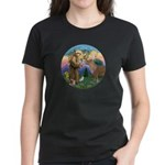 StFrancis-Pony Women's Dark T-Shirt