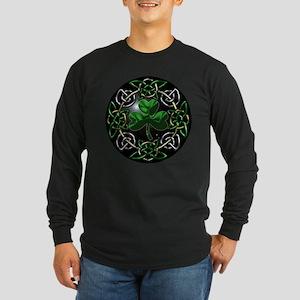 Celtic St Patricks Day circle Long Sleeve T-Shirt