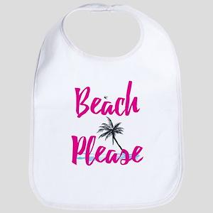 Beach Please Baby Bib