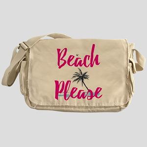 Beach Please Messenger Bag