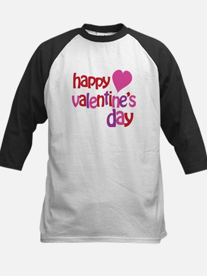 Happy Valentine's Day Kids Baseball Jersey