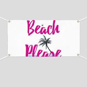 Beach Please Banner