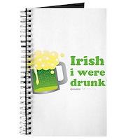Irish I Were Drunk Journal