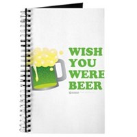 St Patrick's Wish You Were Beer Journal