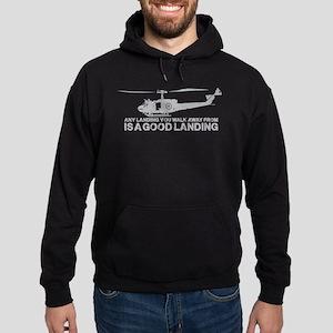 Any Landing Hoodie (dark)