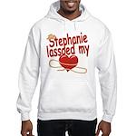 Stephanie Lassoed My Heart Hooded Sweatshirt
