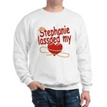 Stephanie Lassoed My Heart Sweatshirt