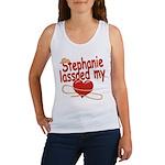 Stephanie Lassoed My Heart Women's Tank Top