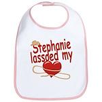 Stephanie Lassoed My Heart Bib
