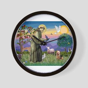 St Francis / Aus Ter Wall Clock