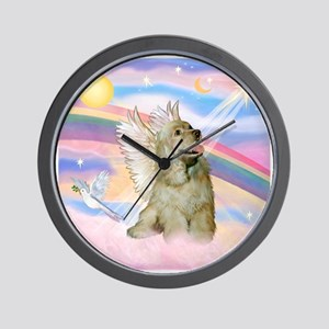 Cocker Spaniel Angel (Buff) Wall Clock