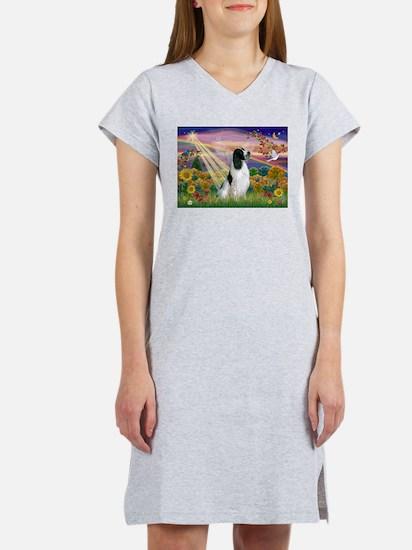 Cloud Angel / English Springe Women's Nightshirt