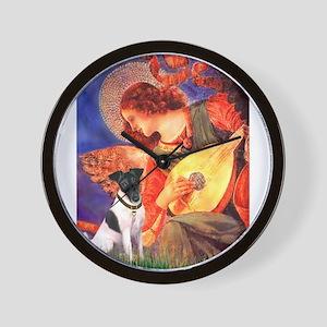 Mandolin / Fox Terrier (s) Wall Clock