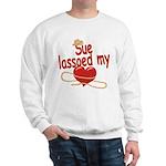Sue Lassoed My Heart Sweatshirt