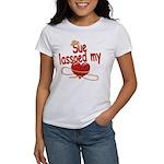 Sue Lassoed My Heart Women's T-Shirt