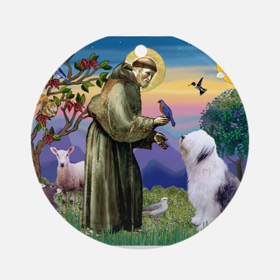ST. FRANCIS + OES Ornament (Round)