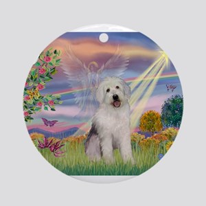 Cloud Angel / OES Ornament (Round)