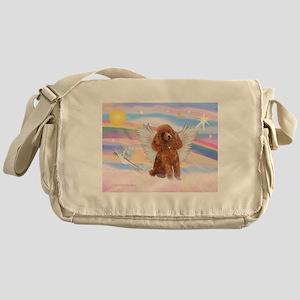 Angel/Poodle (Aprict Toy/Min) Messenger Bag