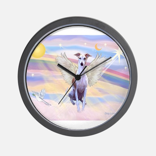 Clouds / Whippet Wall Clock