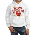Suzanne Lassoed My Heart Hooded Sweatshirt