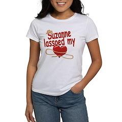 Suzanne Lassoed My Heart Women's T-Shirt