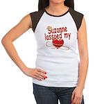 Suzanne Lassoed My Heart Women's Cap Sleeve T-Shir