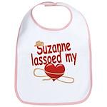 Suzanne Lassoed My Heart Bib