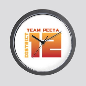 Team Peeta Wall Clock