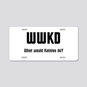 WWKD Aluminum License Plate