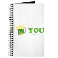 St Patrick's I Love You Beer Journal