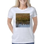 Coot on Pond Women's Classic T-Shirt