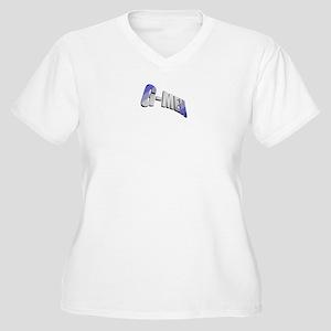 4a2bb53576c Handballbrand Big Blue Handball Nyc Plus Size V-Neck T-Shirts ...