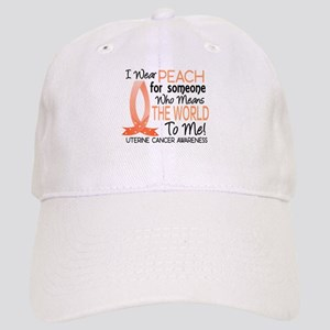 Means World To Me 1 Uterine Cancer Shirts Cap