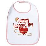 Tammy Lassoed My Heart Bib