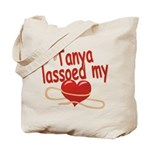 Tanya Lassoed My Heart Tote Bag