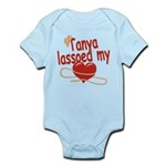 Tanya Lassoed My Heart Infant Bodysuit