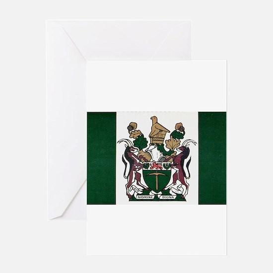 Rhodesia Flag Greeting Card