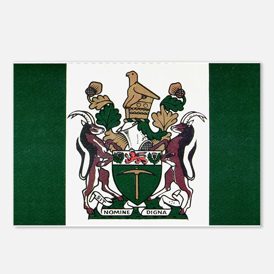 Rhodesia Flag Postcards (Package of 8)