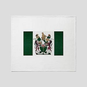 Rhodesia Flag Throw Blanket