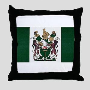 Rhodesia Flag Throw Pillow