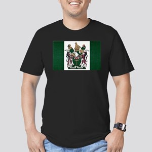 Rhodesia Flag Men's Fitted T-Shirt (dark)