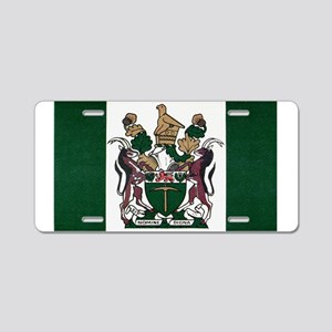 Rhodesia Flag Aluminum License Plate
