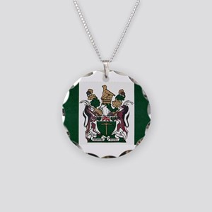 Rhodesia Flag Necklace Circle Charm