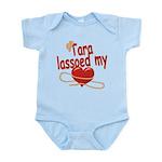 Tara Lassoed My Heart Infant Bodysuit